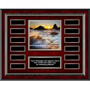 Passion Sea Spray Rosewood Horizontal Perpetual Plaque