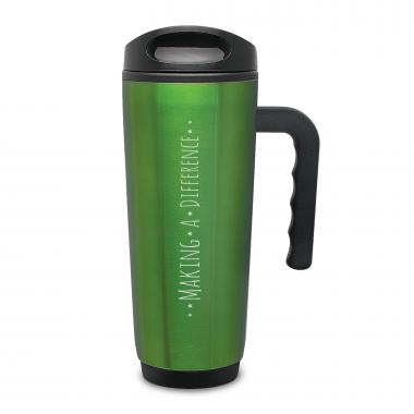 Making a Difference Travel Mug with Handle