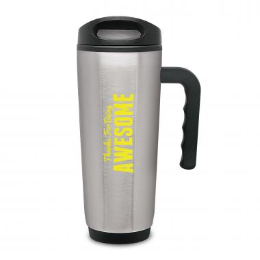 Thanks for Being Awesome Travel Mug with Handle