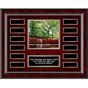 Excellence Azalea Rosewood Horizontal Perpetual Plaque