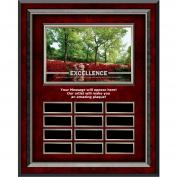 Excellence Azalea Rosewood Vertical Perpetual Plaque