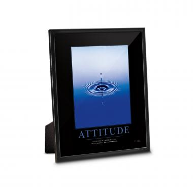 Attitude Drop Framed Desktop Print