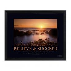 Mini Motivational Posters - Believe and Succeed Mini Motivational Poster