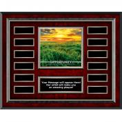 Opportunity New Day Rosewood Horizontal Perpetual Plaque
