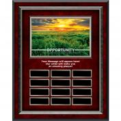 Opportunity New Day Rosewood Vertical Perpetual Plaque