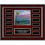 Rise Above Rosewood Horizontal Perpetual Plaque