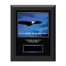 Dare To Soar Gunmetal Individual Award Plaque