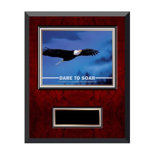 Dare To Soar Rosewood Individual Award Plaque