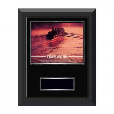 Teamwork Rowers Gunmetal Individual Award Plaque