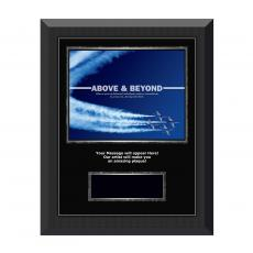 Image Plaques - Above & Beyond Gunmetal Individual Award Plaque