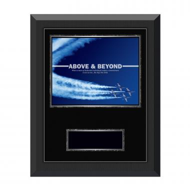 Above & Beyond Gunmetal Individual Award Plaque