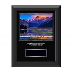 Successories Image Awards - Excellence Mountain Gunmetal Individual Award Plaque