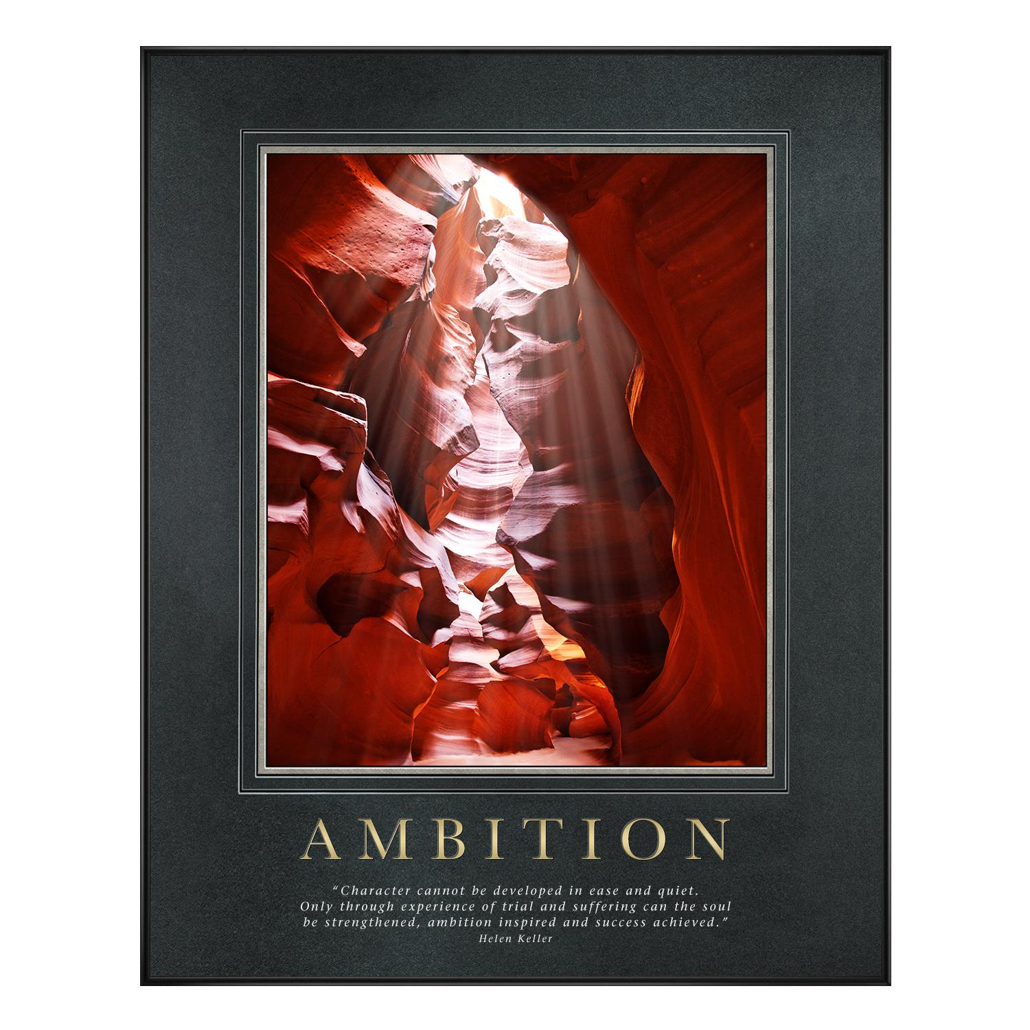 Ambition Canyon Motivational Poster - New Additions