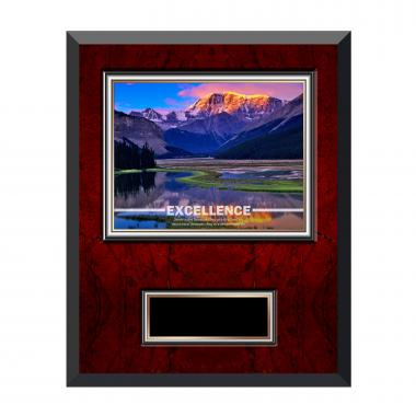 Excellence Mountain Rosewood Individual Award Plaque