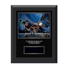 Make It Happen Gunmetal Individual Award Plaque