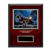 Make It Happen Rosewood Individual Award Plaque
