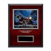 Make It Happen Rosewood Individual Award Plaque