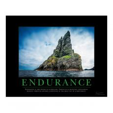 New Products - Endurance Island Motivational Poster
