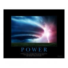 Classic Motivational Posters - Power Tornado Motivational Poster