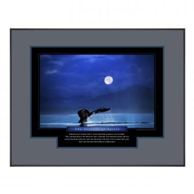 Essence of Spirit Framed Motivational Poster