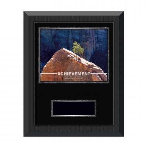 Achievement Tree Gunmetal Individual Award Plaque