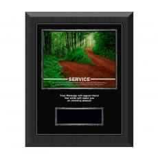 Service Path Gunmetal Individual Award Plaque