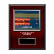 Leadership Flamingos Rosewood Individual Award Plaque