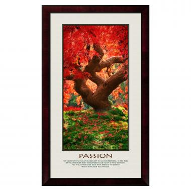 Passion Tree Motivational Poster