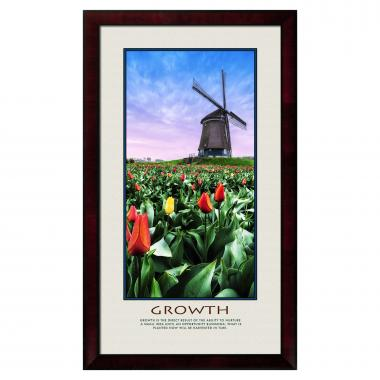 Growth Windmill Motivational Poster