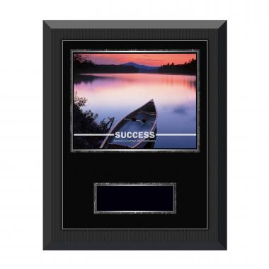 Success Canoe Gunmetal Individual Award Plaque