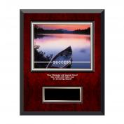 Success Canoe Rosewood Individual Award Plaque