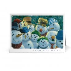 New Greeting Cards - Snowmen Committee Holiday Card Pack