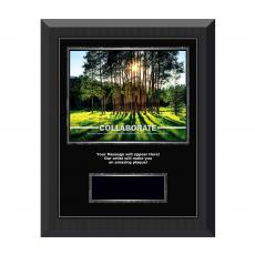 Collaborate Tree Gunmetal Individual Award Plaque