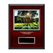 Collaborate Tree Rosewood Individual Award Plaque