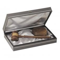 Personalized Gifts - The Statesman Personalized Gavel Set