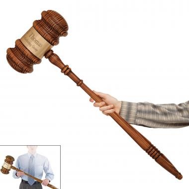 The Big Bertha Personalized Gavel