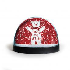 Holiday Themed Gifts - Thanks for All You Do Snow Globe