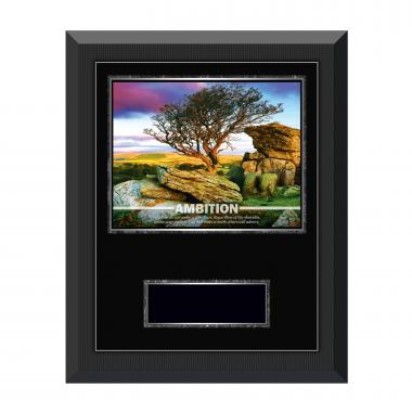 Ambition Tree Gunmetal Individual Award Plaque