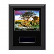 Ambition Tree Gunmetal Individual Award Plaque  (703521)