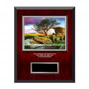 Ambition Tree Rosewood Individual Award Plaque