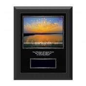 Inspiration Sunburst Gunmetal Individual Award Plaque