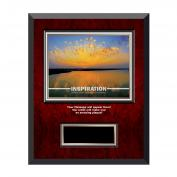 Inspiration Sunburst Rosewood Individual Award Plaque