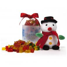 Candy & Food Gifts - Snowman & Gummy Bear Gift Set