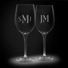 Glass & Crystal Gifts - Personalized Crystal Stemware