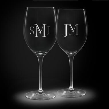 Personalized Crystal Stemware