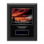 Believe & Succeed Sunset Gunmetal Individual Award Plaque