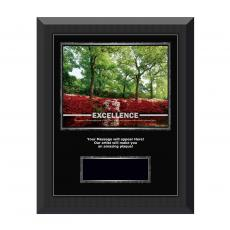 Image Plaques - Excellence Azalea Gunmetal Individual Award Plaque