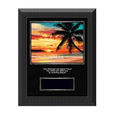 Successories Image Awards - Dream Beach Gunmetal Individual Award Plaque