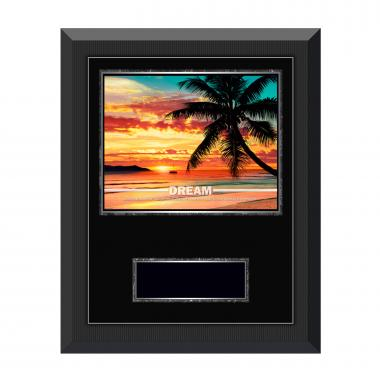 Dream Beach Gunmetal Individual Award Plaque