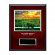 Opportunity New Day Rosewood Individual Award Plaque
